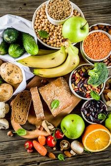 炭水化物繊維が豊富な食品