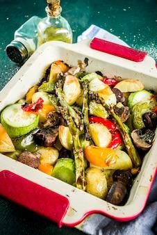 バーベキュー野菜のグリル
