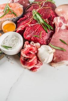 肉食動物のタンパク質ダイエットの背景