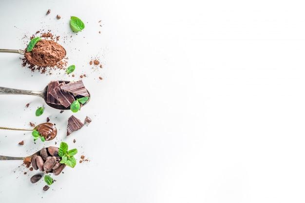 Различные виды какао