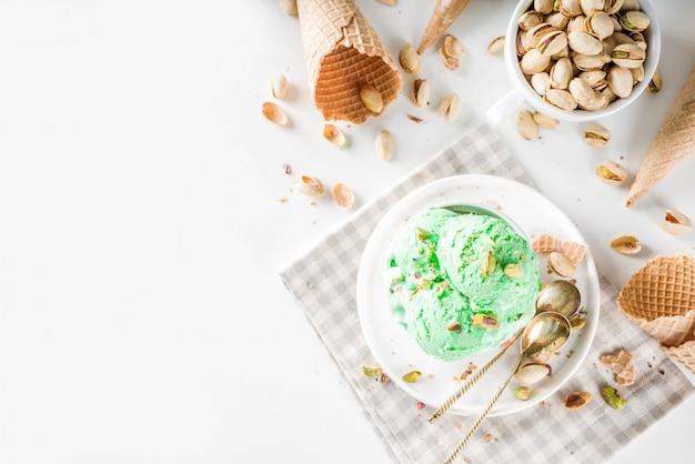 ピスタチオアイスクリーム