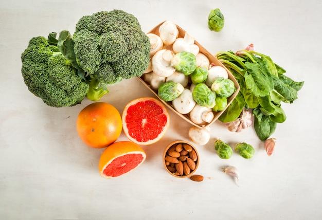 Выбор продуктов для укрепления здоровья и иммунитета