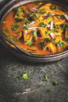 インドのマサラ卵オムレツ