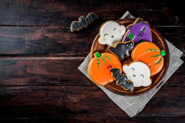 伝統的なハロウィーンクッキー