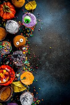 Веселые детские угощения на хэллоуин