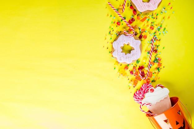 ハロウィーンのお菓子のコンセプト