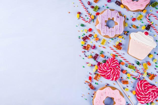 Сладости креативные выкладки, десертная концепция