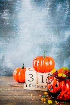 Концепция празднования хэллоуина