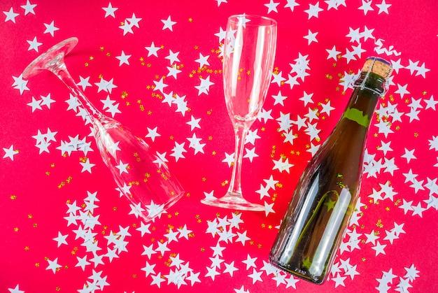 新年とクリスマスの休日のレイアウト