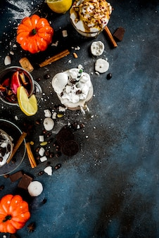 秋冬の暖かい飲み物