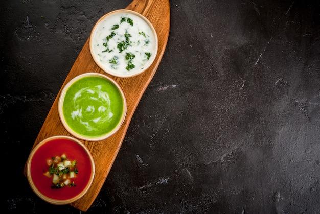 Выбор холодных освежающих летних супов