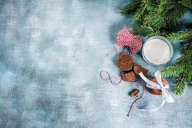 お祝いクリスマスグリーティングカード
