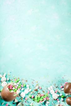 Пасхальные сладости фон