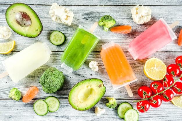 Модное фруктовое мороженое