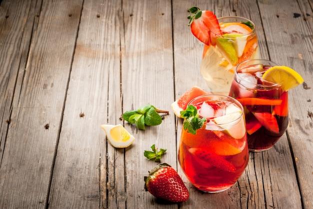 Летний напиток сангрия