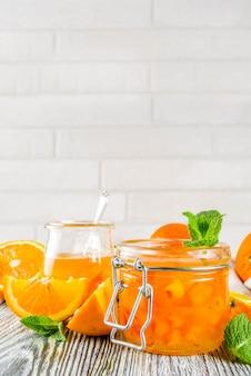 自家製オレンジジャム