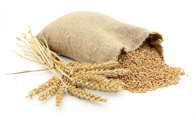 小麦の袋。
