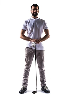白い表現のゴルフアイアントーナメント