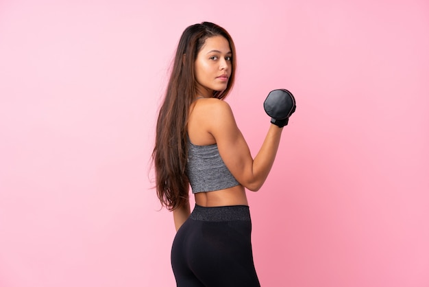 ブラジルのスポーツ女性