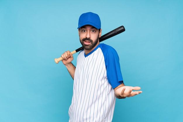若いスポーツ野球男