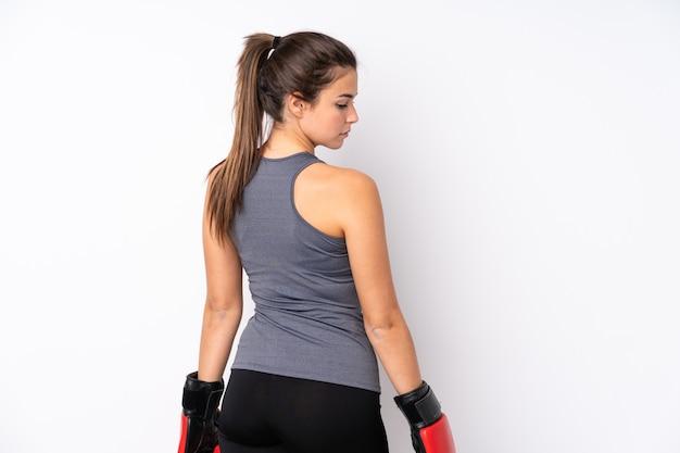Молодая спортивная женщина