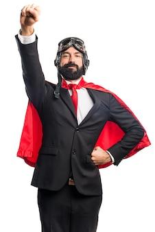 スーパーヒーローの実業家