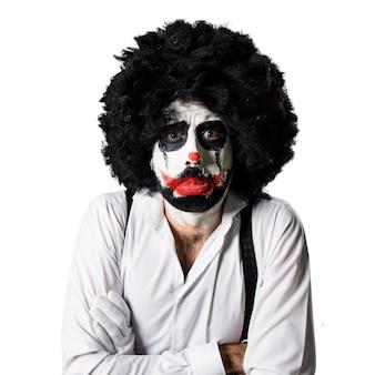 Грустный клоун-убийца