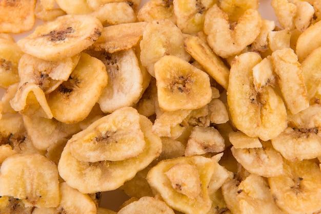 スライスされた乾燥バナナ