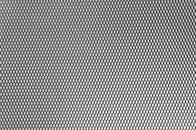 抽象的な金属の幾何学的な背景。金属メッシュ