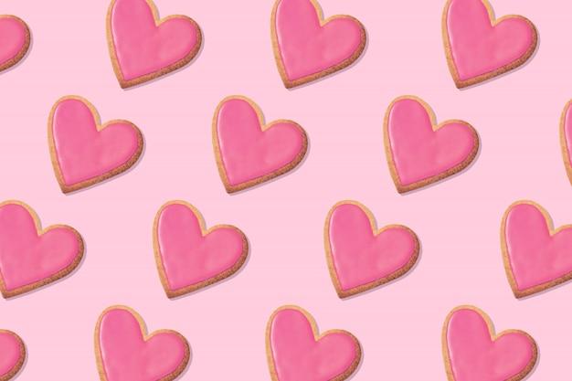 Выкройка печенья в форме сердца