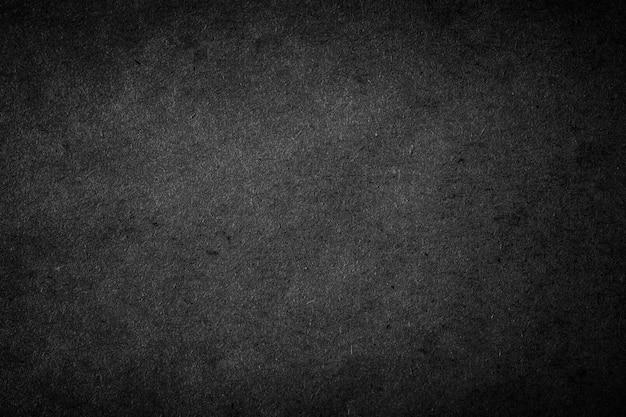 黒クラフト紙のテクスチャ背景