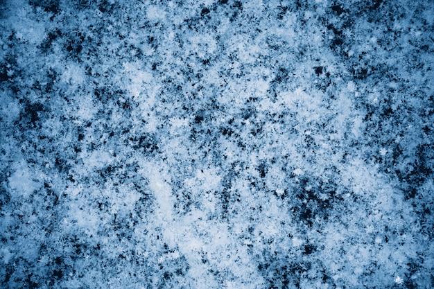 Настоящая текстура снега. рождественские и новогодние праздники фон