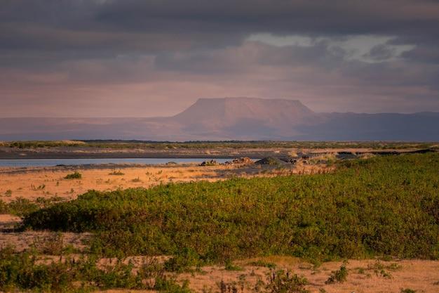 美しい北アイスランドを見てください。