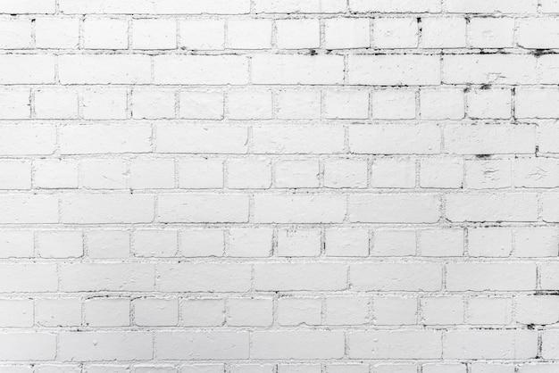 白いレンガの壁の背景