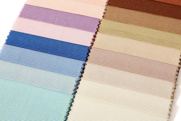 Образцы образцов ткани