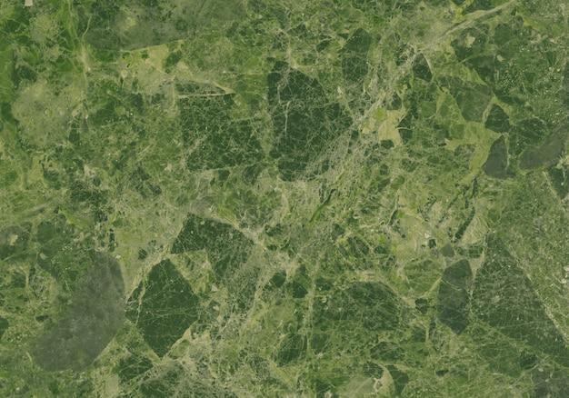 グリーンの大理石の質感グランジ