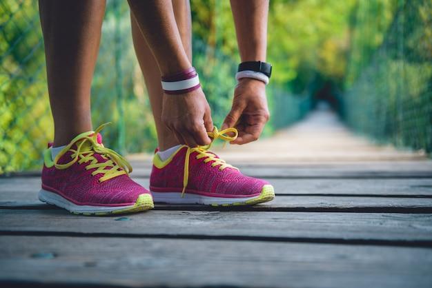 Обвязка спортивной обуви