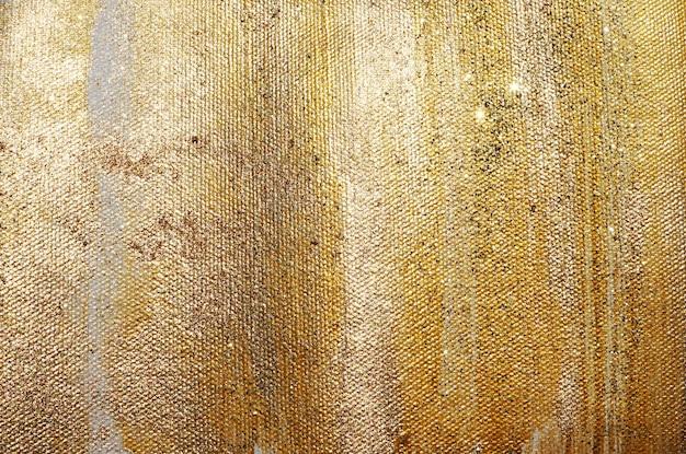 Золотой блеск текстуры краски
