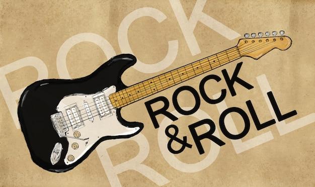 ロック&ロールエレクトリックギター