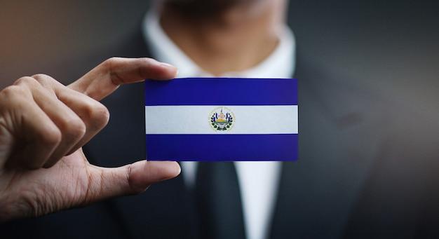 エルサルバドルの国旗の実業家保有カード