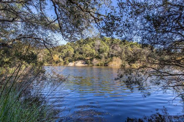 テラサ、バルセロナの小さな湖