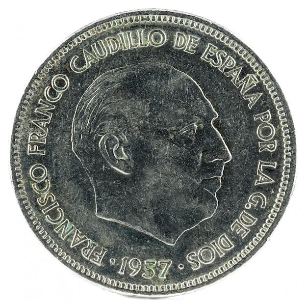 Франциско франко монета