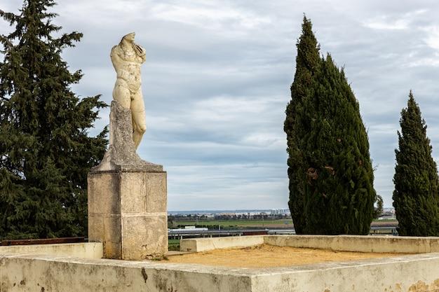 イタリカのローマ遺跡。