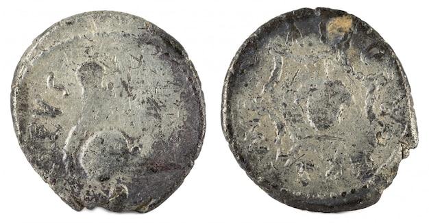 ローマ共和国のコイン。コルディア家の古代ローマ銀デナリウス。
