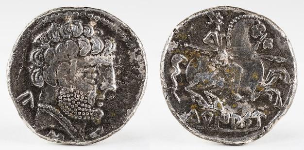 古代トゥリアソイベリアスペインシルバーデナリウス。