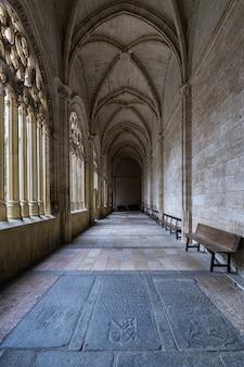セゴビアの大聖堂の回廊。