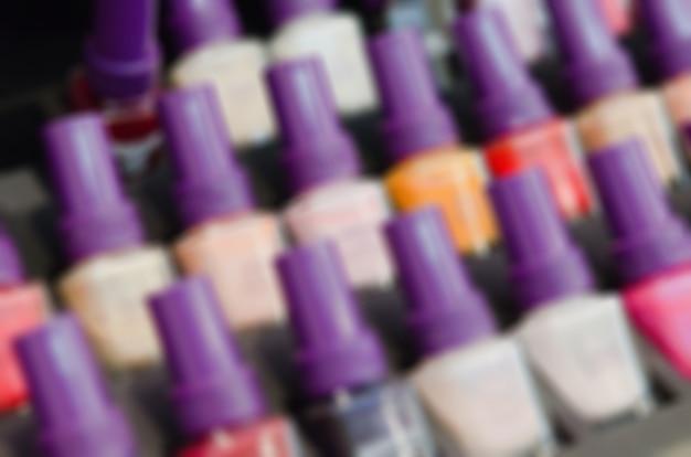 現代の美容サロンのぼかしの背景