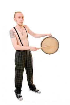 Прохладный барабанщик