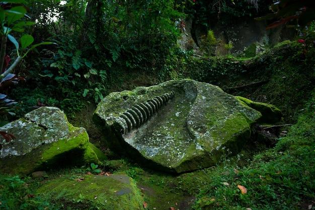 古代の寺院の遺跡
