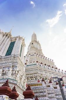 Вид на буддийский храм в таиланде